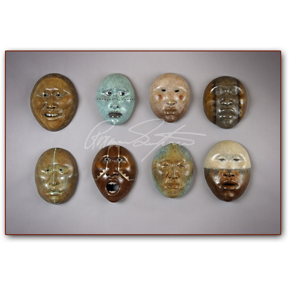 Bronze: Smithsonian Masks